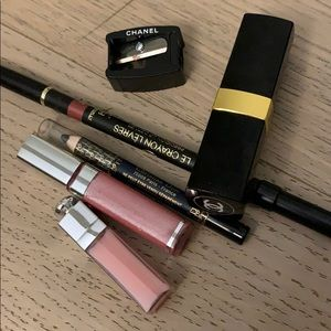 CHANEL rouge coco lip liner tulip and DIOR